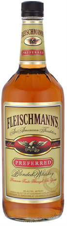 Fleischmanns Whiskey Preferred 80@